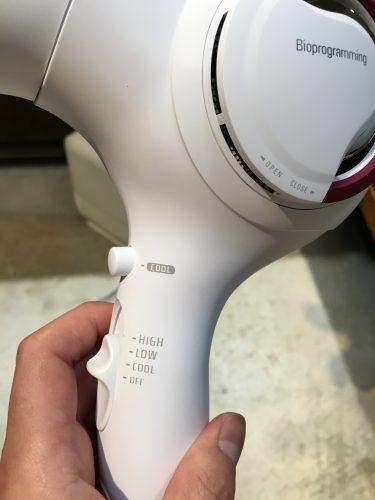 レプロナイザー3Dplusのスイッチコントロール部分