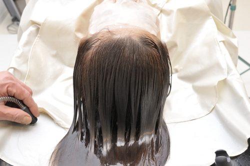 トリートメントで髪の栄養補給する