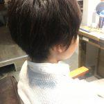 明るくなった髪を黒染めしないで暗めのカラーリングで染める方法【お客様ヘア】
