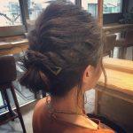 結婚式で妹の髪の毛を初めてアレンジしたんだけど