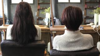 バッサリ髪を切るということは過去の自分にサヨナラすること【お客様ヘア】